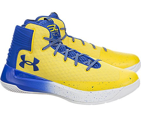 9a6ea622d766 Under Armour Men s Curry 3 Basketball Shoe (Taxi Royal Blue Royal Blue)