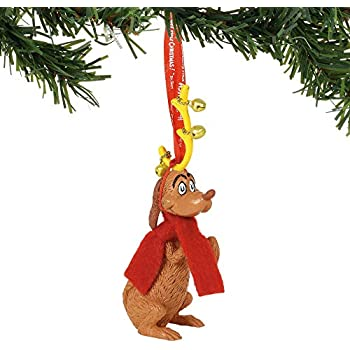 department 56 grinch max hanging ornament multicolor