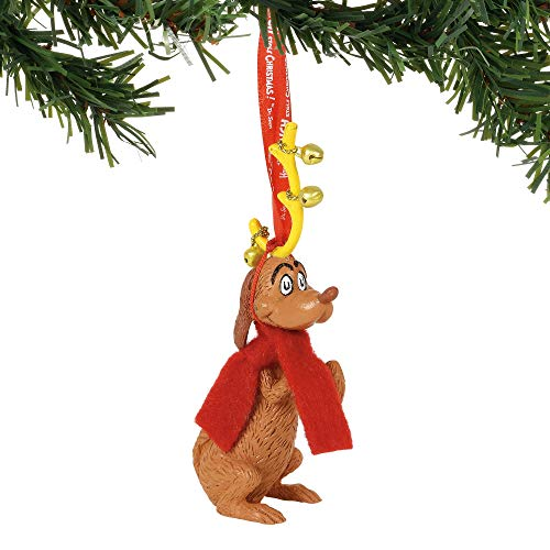 Department 56 Grinch Max Hanging Ornament, Multicolor