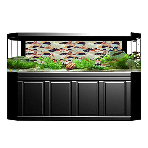 Jiahong Pan Decorative Aquarium with Oak Tree Leaves for sale  Delivered anywhere in Canada