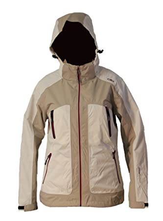 Campagnolo – Chaqueta mujer Zip Hood W. D40 (M) Offwhite (A145)