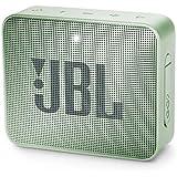 JBL Go 2 Portable Bluetooth Speaker, Glacier Mint, JBLGo2Mint