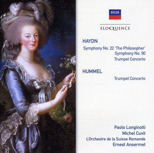 CD : Ernest Ansermet - Haydn: Sym Nos 22 & 90 / Trumpet Cto (CD)