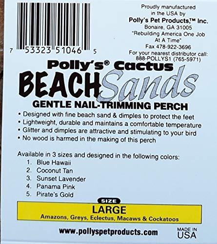 Polly's Beach Sands Bird Perch, Large