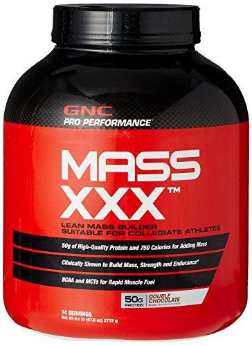 GNC Pro Performance masse XXX (DOUBLE chocolat) 14 portions 6,1 LB