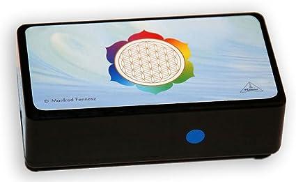 Hamoni® Harmonizer en negro: altamente eficaz protección contra la radiación teléfono móvil, Wifi