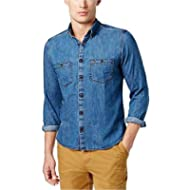 [Sponsored]Tommy Hilfiger Mens Custom Fit Button Down Shirt