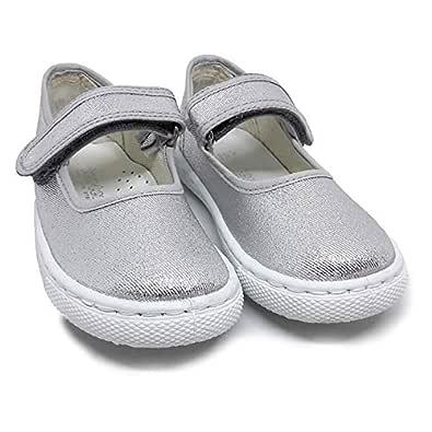 Ten.Ten Velcro Casual Shoes for Girls - Silver