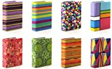 Assorted Prints 8inch X 10inch Stretchable Fabric Book Covers