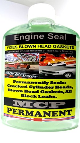 2 x STEEL SEAL HEAD GASKET SEALER MCP CRACKED CYLINDER BLOCKS & WRAPPED...