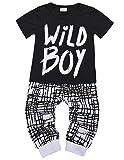 Baby Boys Clothes Set Wild Boy Long Sleeve T-Shirt