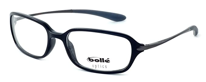 Amazon.com: Bolle Optical Neuilly in Shiny Black Eyeglass Frame ...