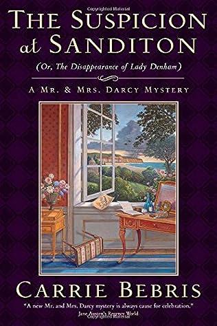 book cover of The Suspicion at Sanditon