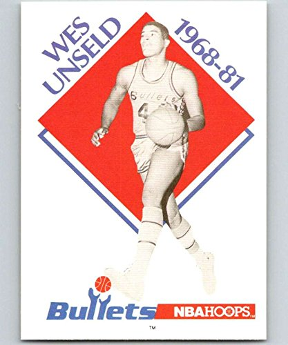 (1990-91 Hoops #344 Wes Unseld Bullets CO NBA Basketball)