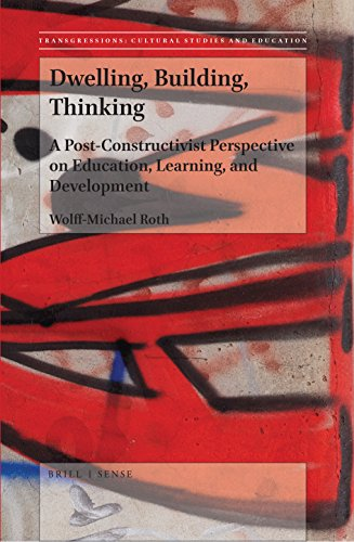 Book cover from Dwelling, Building, Thinking (Transgressions: Cultural Studies and Education) by Wolff-Michael Roth