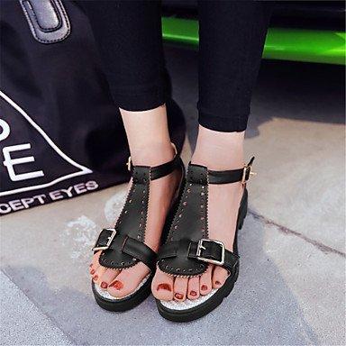 LvYuan Mujer-Tacón Plano-Otro Confort Innovador Zapatos del club-Sandalias-Vestido Informal Fiesta y Noche-Materiales Personalizados Semicuero- Pink