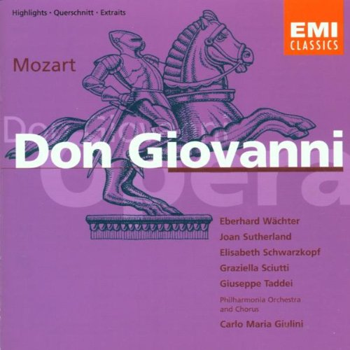 Wolfgang Amadeus Mozart - Don Giovanni - Giulini: Highlights - Zortam Music