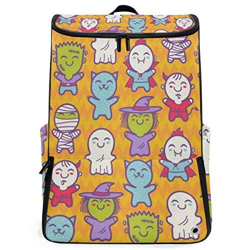 Travel Backpack Cosplay Children Halloween Costumes Gym Backpack for Women Big Weekender -