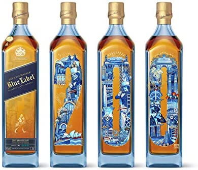 Johnnie Walker Blue Label 200th Anniversary KEEP WALKING Limited Edition 2020 40% - 700 ml in Giftbox