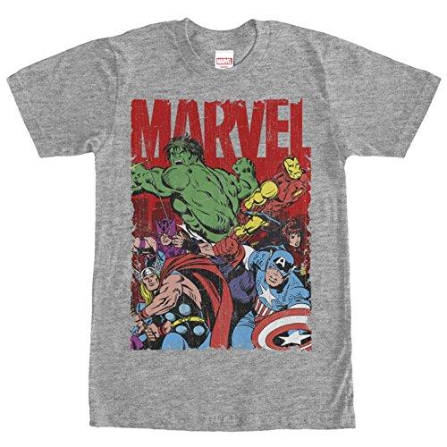 Marvel trabajo en equipo camiseta