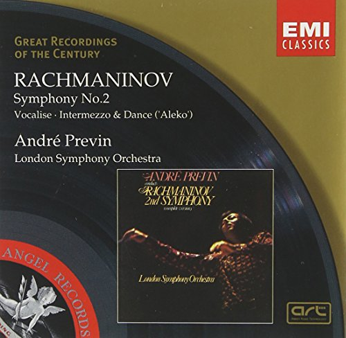 Rachmaninov: Symphony No. 2 in E Minor Op. 27/Vocalise/Aleko- Intermezzo & Women's Dance (Great Recordings of the Century) (Rachmaninov Symphony 2 Best Recording)