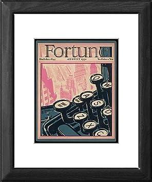 Diseño de tío de máquina de escribir antigua de teclas de Fortune/: Amazon.es: Hogar