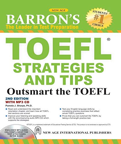 Barrons TOEFL Strategies and Tips (With CD)