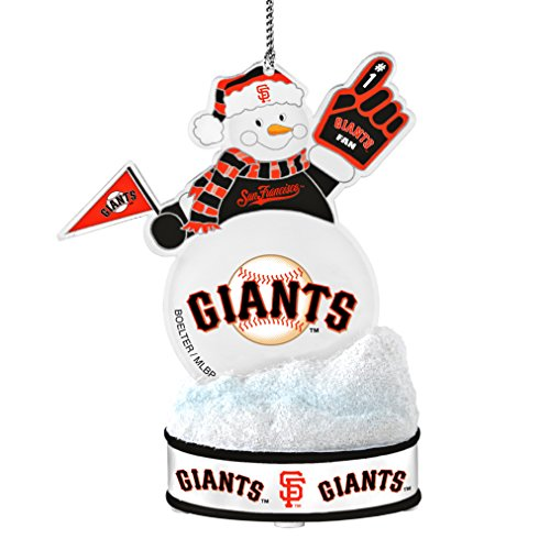 MLB San Francisco Giants LED Snowman Ornament