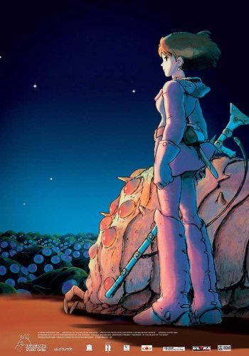 NAUSICAÄ of the Valley of the Winds POSTER Movie (11 x 17 Inches - 28cm x 44cm) (2005) (Russian Style A)