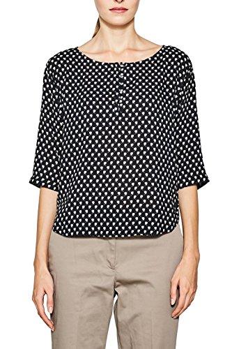 001 Black ESPRIT Collection Femme Blouse Multicolore 087EO1F018 PPfOYU