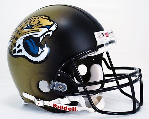 NFL Jacksonville Jaguars VSR4 Authentic Helmet by Riddell