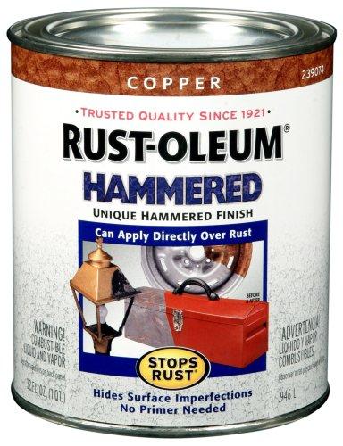 Rust Oleum 239074 Hammered Finish 1 Quart