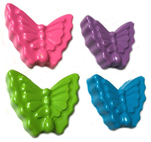40 Butterfly Crayons by MinifigFans™ - Birthday Party Favors - 10 Sets of 4 - Made in the USA from Crayola (Butterfly Party Favors)