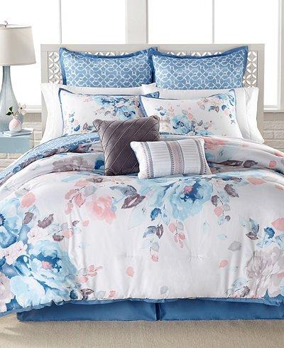 (Sunham Lucia 8 Piece Queen Comforter Set)