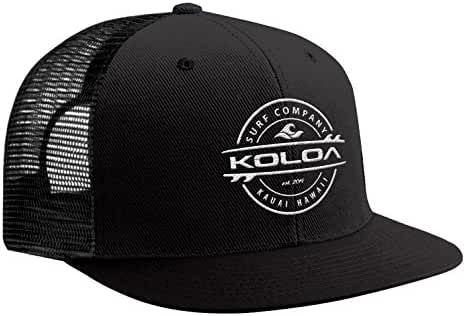 Koloa Surf - Thruster Surfboard Logo Mesh Back Trucker Hats in 12 Colors