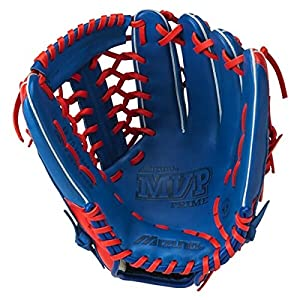 "Mizuno MVP Prime Special Edition Baseball Glove, Black/Orange, 12.75"", Worn on left hand"