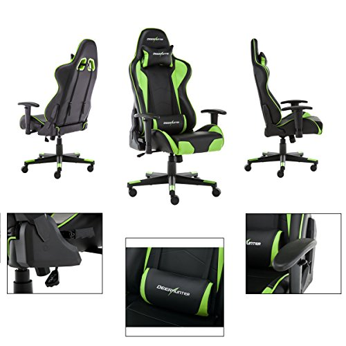 Deerhunter Gaming Chair Swivel Leather Office Chair High