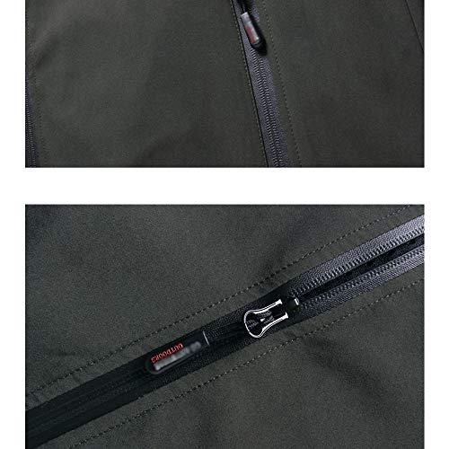 Viaggio Alpinismo Uomo Large Outdoor Per Softshell Sottile Da Green Jacket Cappotto Giacca Cappuccio Quick Impermeabile Traspirante Con Dry qwIEFtZ
