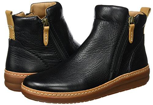 Rosi Leather Da Ginnastica Scarpe Alte Nero Donna Clarks black Amberlee 1pzq5Bxpw