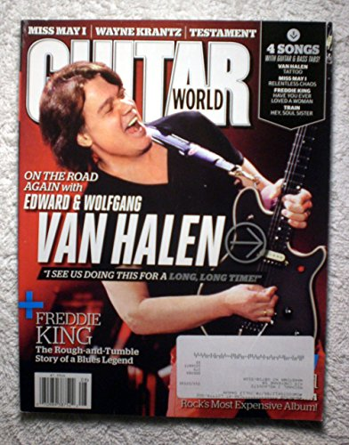 Wolfgang Van Halen - Guitar World Magazine - August 2012 - Miss May I & Freddie King -