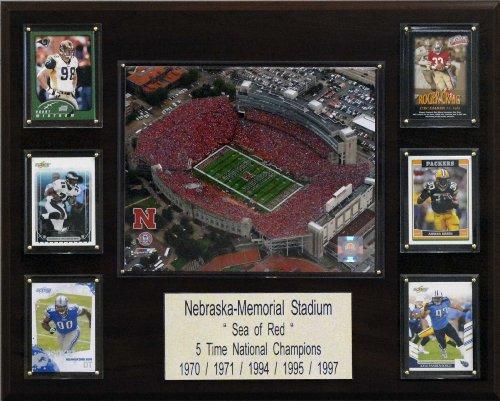 Stadium Memorial - NCAA Football Nebraska Memorial Stadium Stadium Plaque
