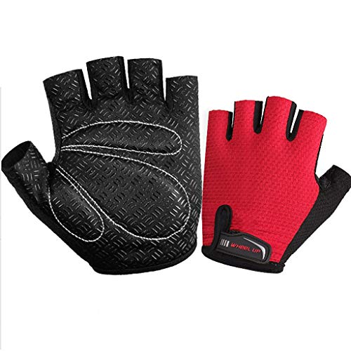 Cycle Gloves Mountain Road Bike Gloves Half Finger Bicycle Gloves with Anti Slip Shock-Absorbing Gel Pad Cycling Riding Biking Gloves Bicycling Gloves for Men or Women