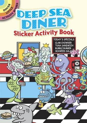 Download Deep Sea Diner Sticker Activity Book (Dover Little Activity Books Stickers) pdf epub
