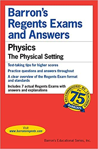 Regents exams and answers physics barrons regents exams and study guide fandeluxe Choice Image