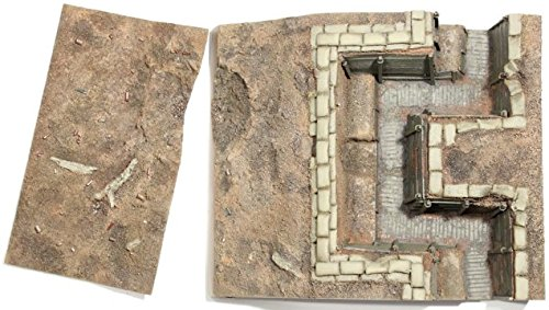 (W. Britain 51014 WWI British Trench Section No.1, Infnatry Trench with Sniper Pit)