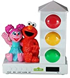 Its About Time Stoplight Sleep Enhancing Alarm Clock for Kids, Elmo & Abby