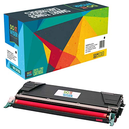 Do it Wiser Compatible C746A1MG Toner for Lexmark X746de C746 C748 X748de C748de C746dn XS748de X748 X746 C746n C748de 748de (Magenta)