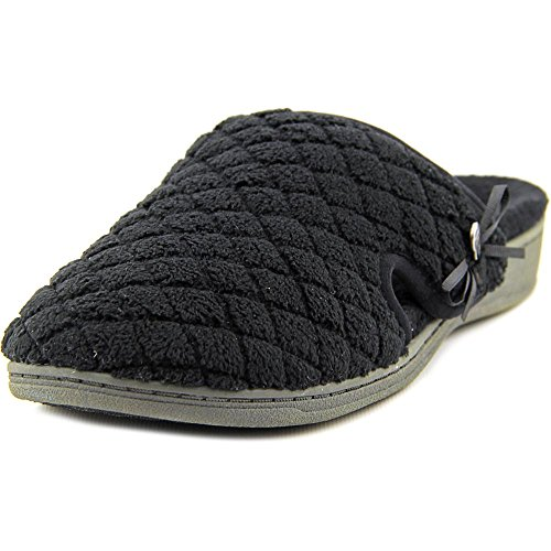 Vionic Black Clog Adilyn Slippers Quilted Terry Womens 6AWw0qAf1