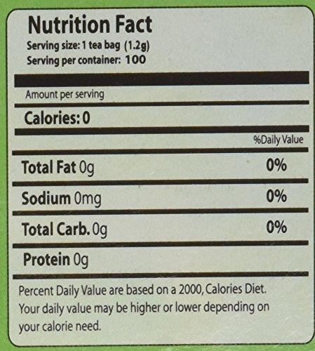 Green Tea - 100% Natural, 100 bags,