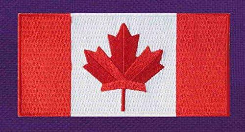 カナダ国旗サッカーバックパックまたはバレーボールバッグパープル